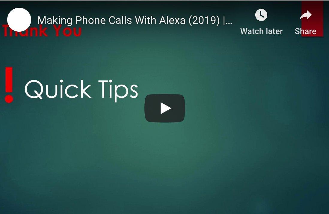 Calling With Alexa